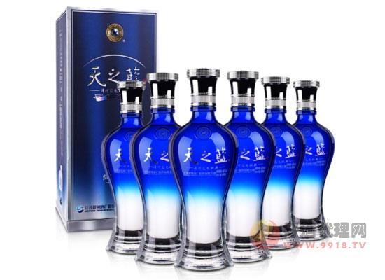 46°洋河藍色經典天之藍價格480ml(6瓶裝)