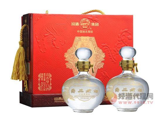 55°汾酒集團十五年陳釀千秋爵品老酒價格