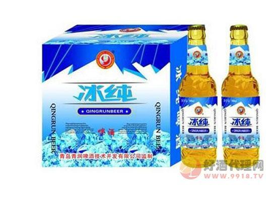 哈尔滨冰纯 白瓶啤酒价格500ml