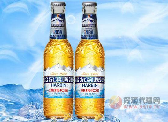 哈尔滨冰纯啤酒330ml