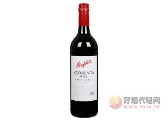 奔富蔻兰山设拉子赤霞珠红葡萄酒价格