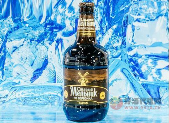 羅斯進口老米勒黑啤價格500ml