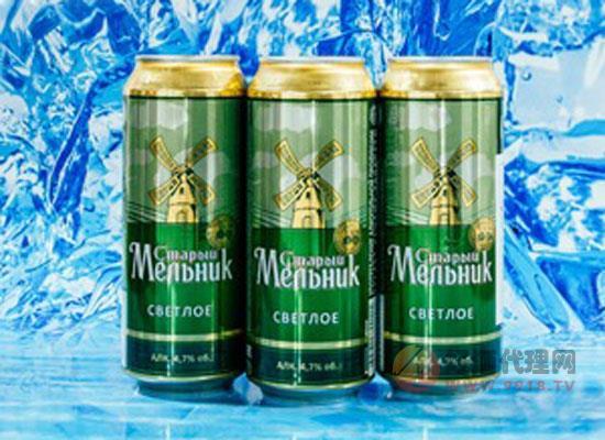 俄羅斯進口老米勒淡爽啤酒價格