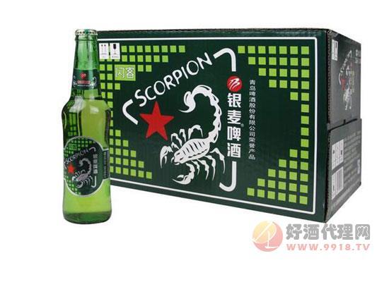 青島銀麥閃客啤酒價格
