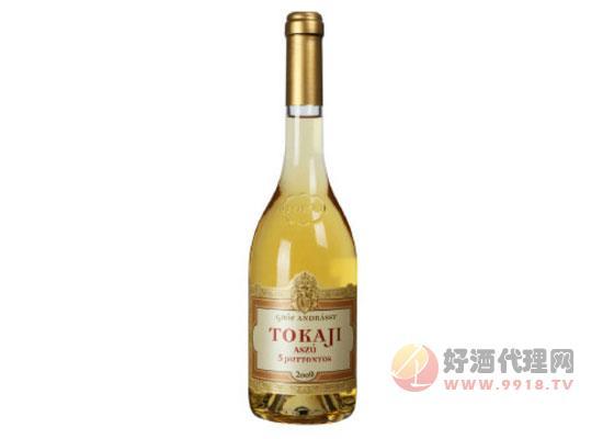安德斯伯爵托卡伊阿蘇五籮葡萄酒價格