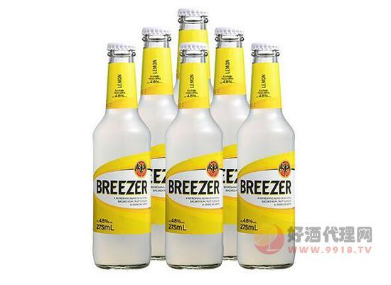 百加得冰銳朗姆預調雞尾酒價格275ml