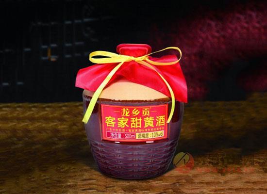 龍鄉貢客家甜黃酒價格