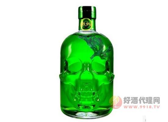 绿魔骷髅头苦艾酒内含苦艾草价格