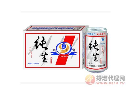 330ml易拉罐纯生啤酒价格