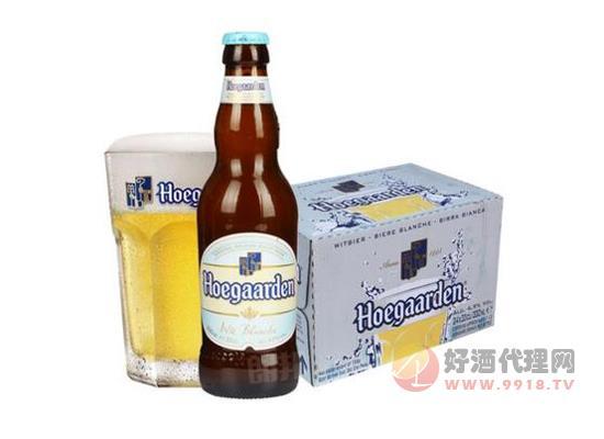 比利时进口啤酒福佳小麦白啤酒330ml价格