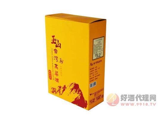 38°玉山高粱酒價格600ml