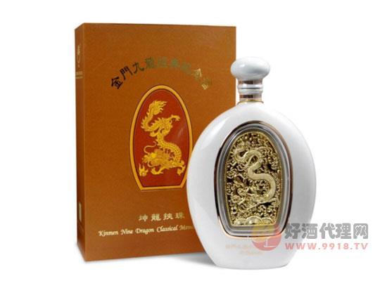 58度金門高粱酒九龍經典系列紀念酒價格
