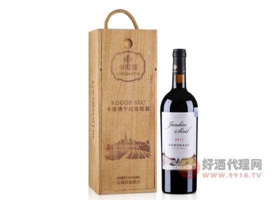 法國卡斯特賽拉爾波爾多干紅葡萄酒禮盒裝價格