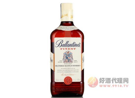正品進口洋酒 40度英國百齡壇特醇蘇格蘭威士忌價格