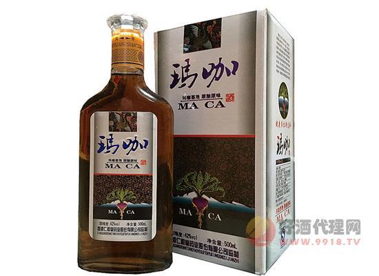 銀仁和堂配置藥酒億威瑪咖酒價格500ml