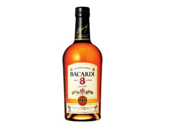 百加得8年陈酿黑朗姆酒价格