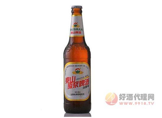 泰山原浆啤酒价格表