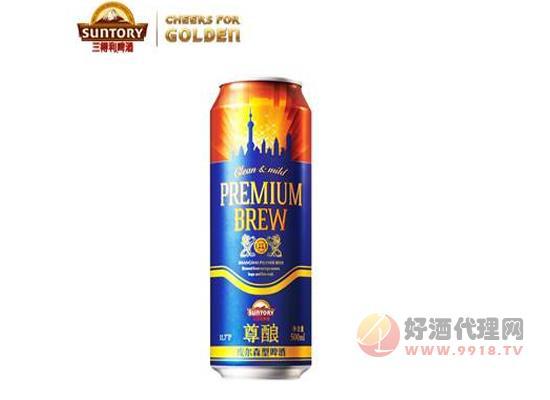 三得利尊釀啤酒價格500ml