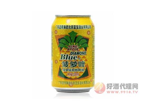 蓝带菠萝啤价格330ml
