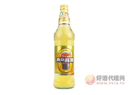 燕京啤酒价格走势分析
