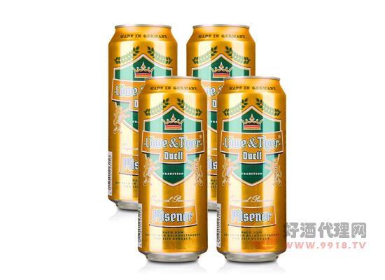 德國獅虎爭霸比爾森啤酒價格500ml