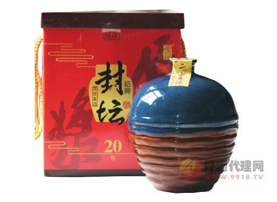紹興黃酒封壇二十年花雕酒價格