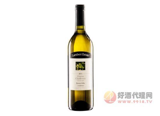 澳大利亞原瓶進口蘭伯特純味霞多麗干白葡萄酒價格