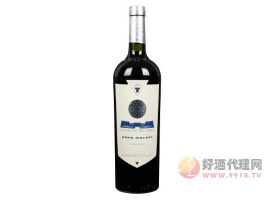 安第斯之箭馬爾貝克紅葡萄酒價格