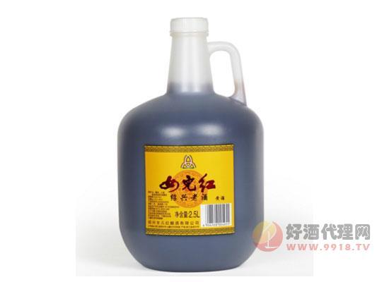 紹興黃酒女兒紅桶裝花雕酒價格