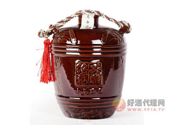 紹興黃酒十年陳紹興花雕酒價格