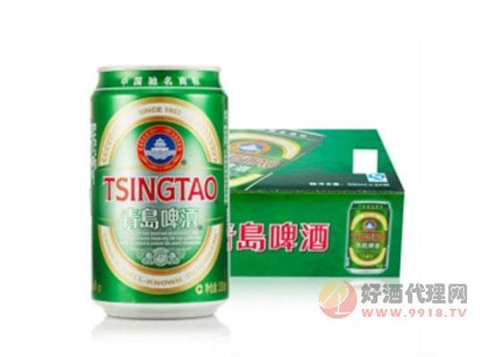 青岛啤酒经典易拉罐价格
