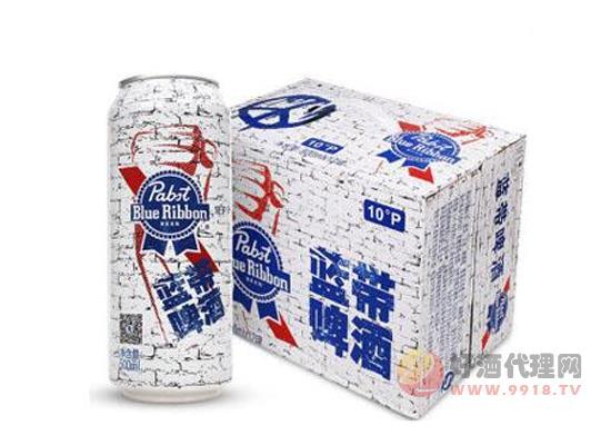 美国蓝带啤酒反战版价格