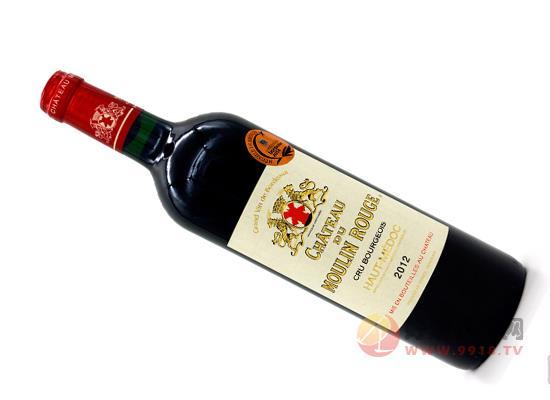 法國紅磨坊古堡原瓶進口紅酒價格