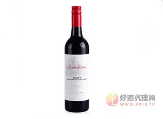 戈尔登堡梅洛赤霞珠干红葡萄酒价格
