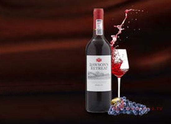 蜀红酒庄美乐干红葡萄酒价格