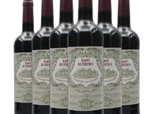 佩尔图斯男爵美乐干红葡萄酒多少钱一瓶