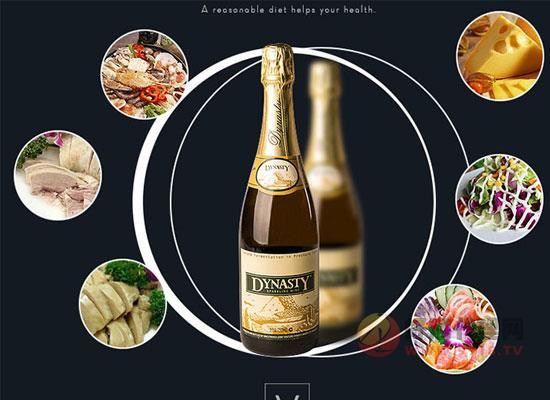 王朝經典起泡葡萄酒多少錢一瓶?