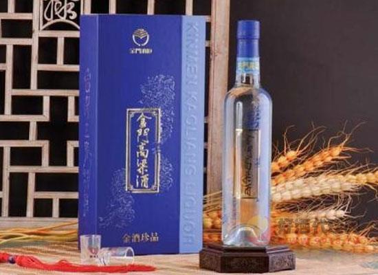 臺灣金門高粱酒窖藏金龍白酒的價值