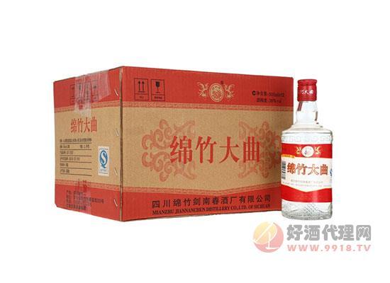剑南春 绵竹红标大曲 38度 浓香型白酒 整箱装 价格