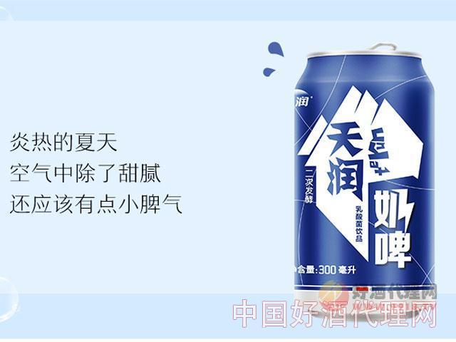 天润奶啤300ml