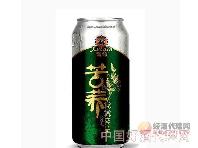 雪沁苦荞啤酒500ml