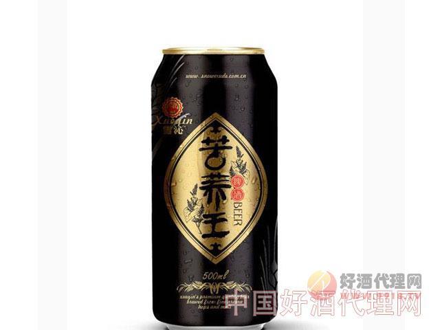 雪沁苦荞王啤酒500ml