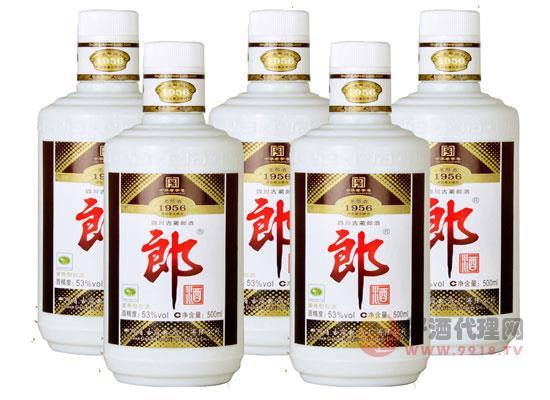 53°老郎酒1956 500ml酱香型白酒价格