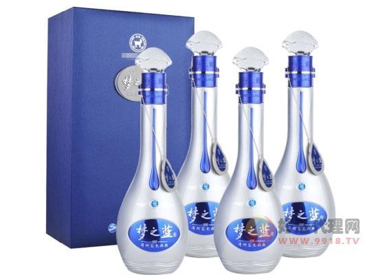 52度洋河蓝色经典梦之蓝M9收藏