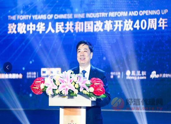 洋河王耀:改革开放40年 中国白酒百花齐放