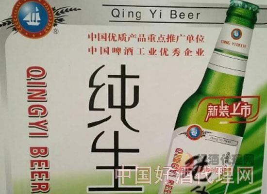 纯生风味瓶装啤酒500mlX12瓶