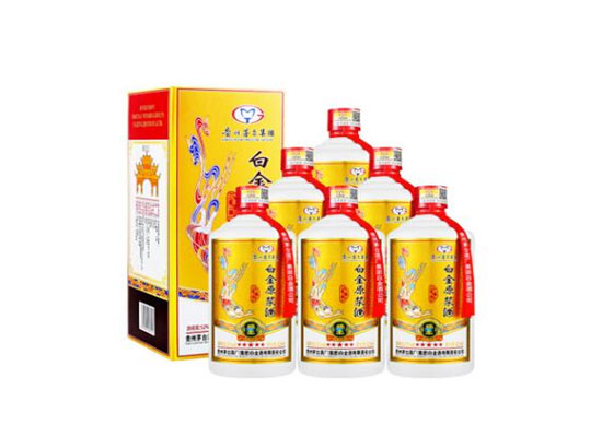 貴州茅臺白金原漿酒系列 口感濃香型白酒價格