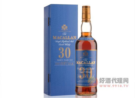 邁克倫威士忌怎么樣?麥卡倫30年多少錢一瓶。