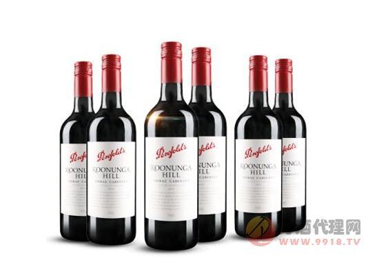 奔富寇蘭山干紅葡萄 澳洲進口紅酒整箱價格