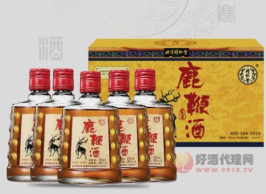 鹿鞭酒價格,同仁堂38度鹿鞭酒125ml×6瓶價格